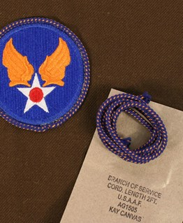 US Air Force USAAF Branch of Service Cord