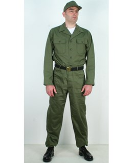 US Army OG 107 suit Vietnam style
